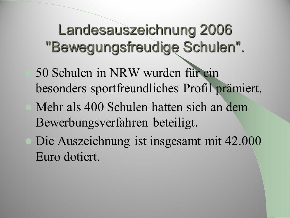 Landesauszeichnung 2006