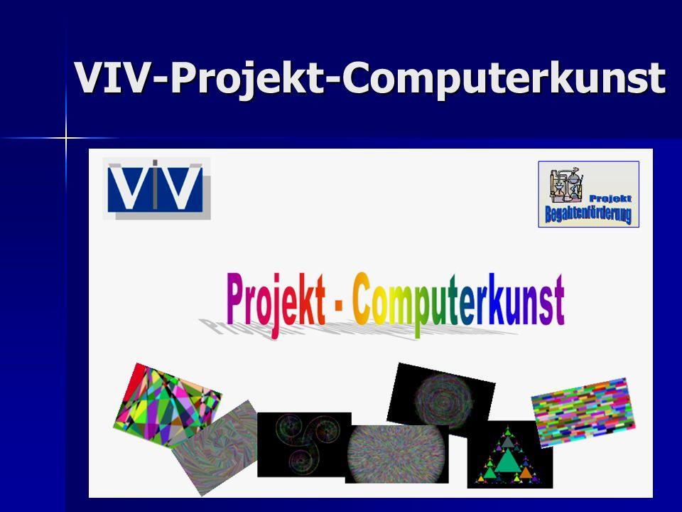 VIV-Projekt-Computerkunst