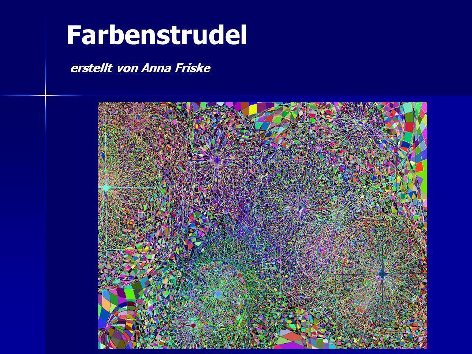 Farbenstrudel erstellt von Anna Friske