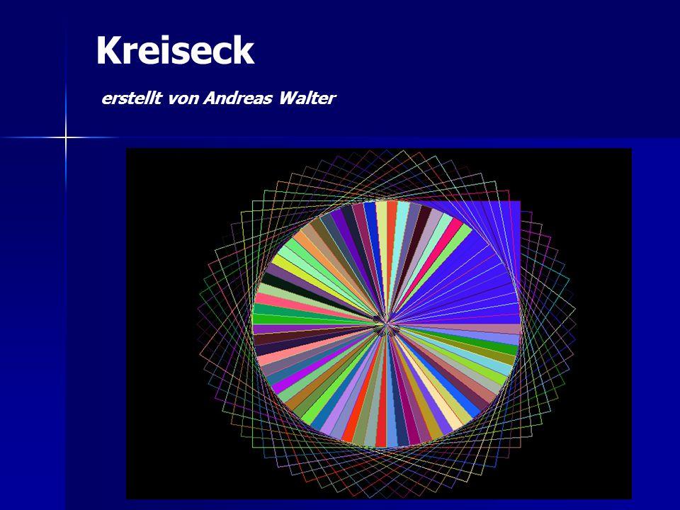 Kreiseck erstellt von Andreas Walter
