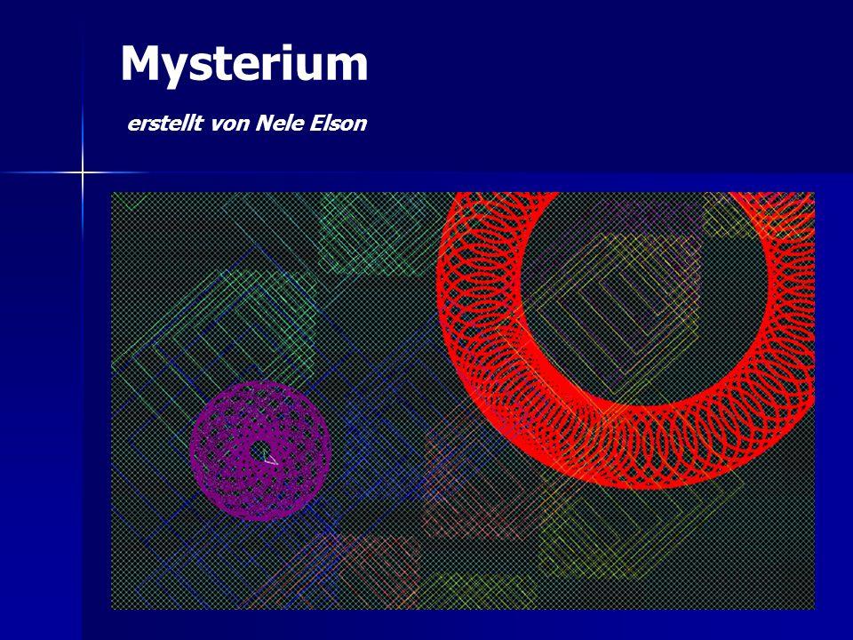 Mysterium erstellt von Nele Elson