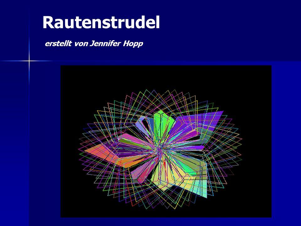 Rautenstrudel erstellt von Jennifer Hopp