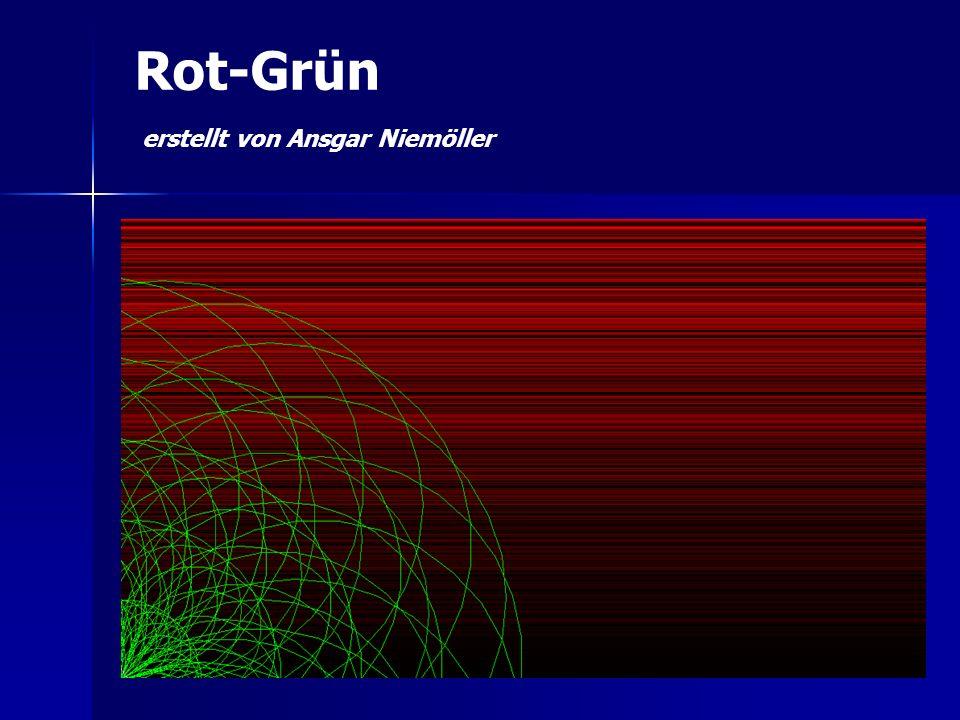 Rot-Grün erstellt von Ansgar Niemöller