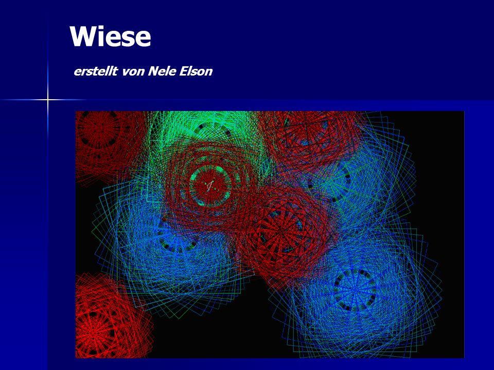 Wiese erstellt von Nele Elson