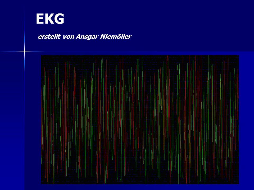 EKG erstellt von Ansgar Niemöller