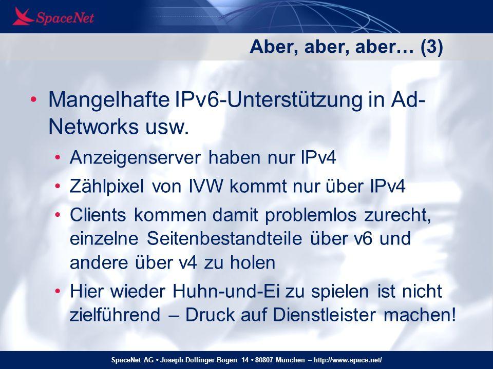 SpaceNet AG Joseph-Dollinger-Bogen 14 80807 München – http://www.space.net/ Und wo ist der Rest der Hühner….