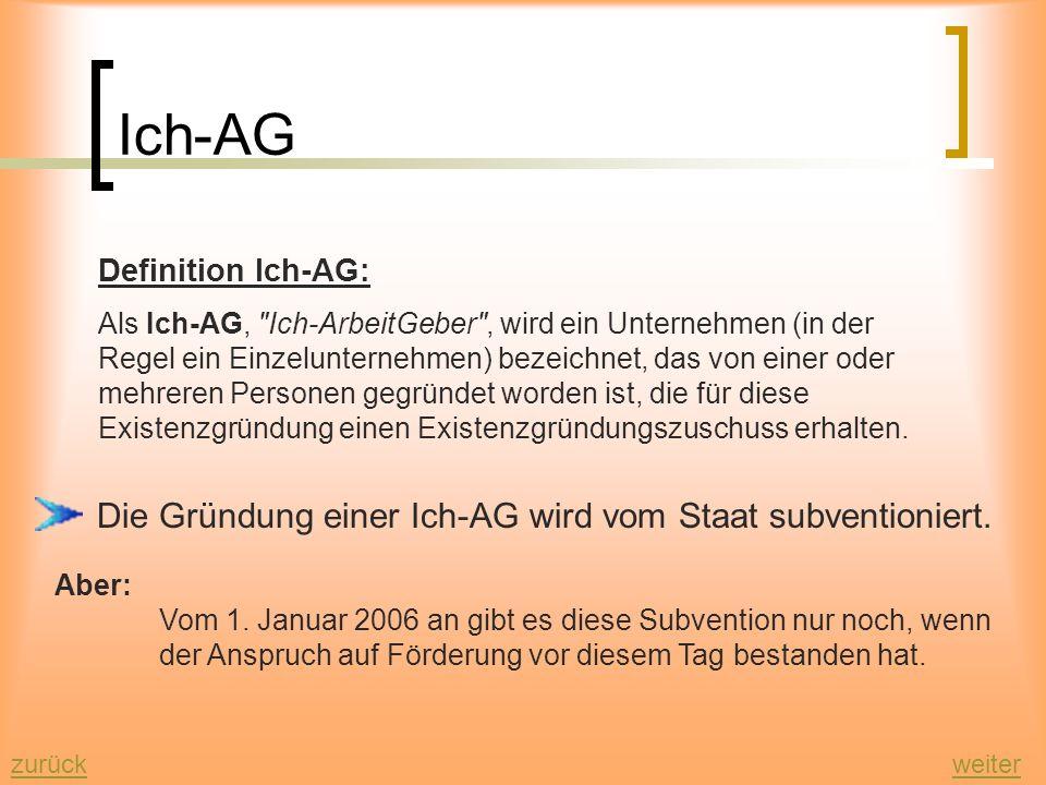 Agenda 2010 Bereich Ausbildung: Besondere Ausbildungsangebote für Jugendliche Berufsausbildung auch durch fachlich geeignete, erfahrene Gesellen in de