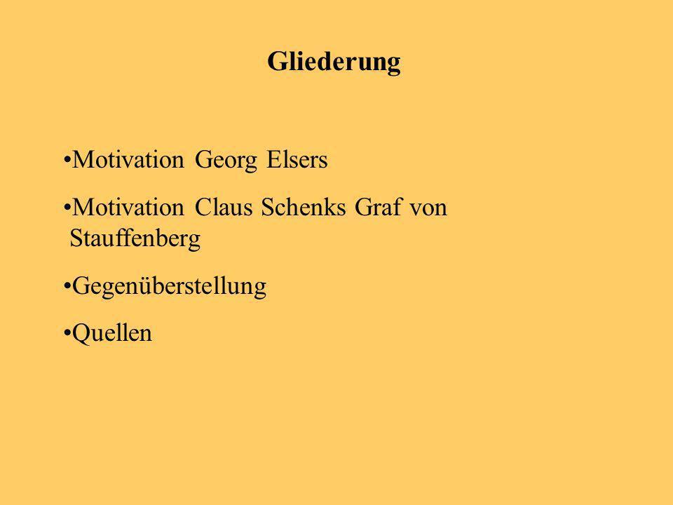 Georg Elser (1903-1945) Der Anschlag: 08.