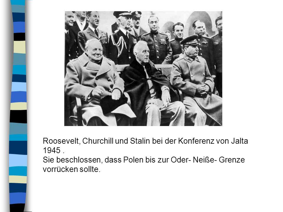Nach der ersten Vertreibung der Deutschen aus Schlesien und übrigen deutschen Ostgebieten folgte im August 1945 die zweite bis zum November andauernde