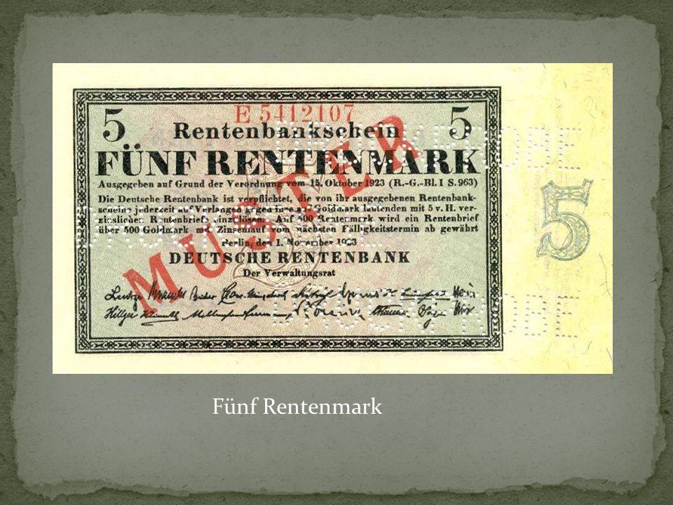 Fünf Rentenmark