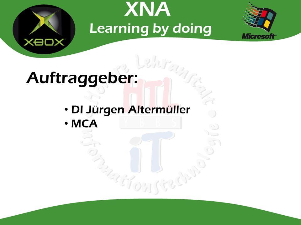 Auftraggeber: DI Jürgen Altermüller MCA