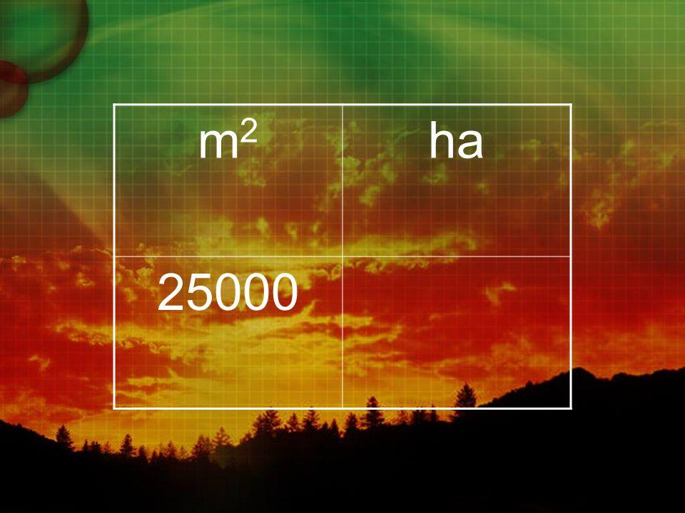 m2m2 ha 25000
