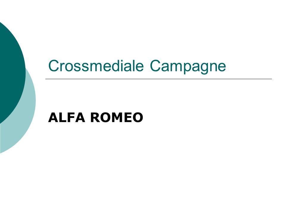 Crossmediale Campagne ALFA ROMEO
