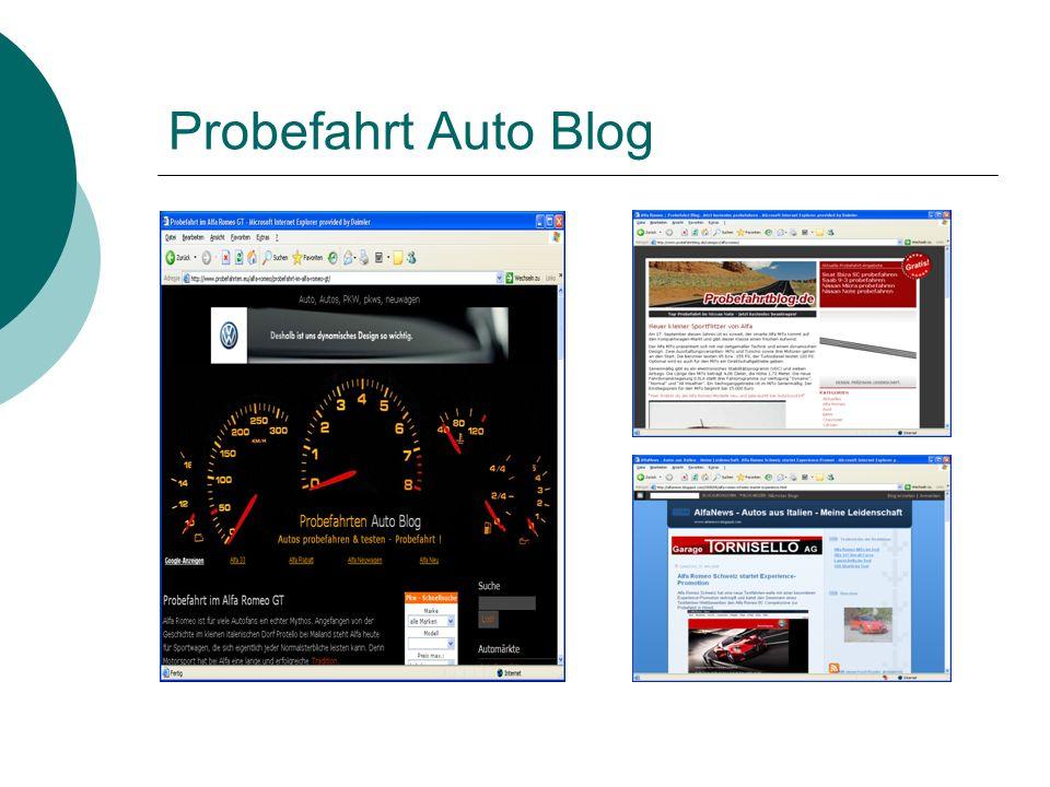 Probefahrt Auto Blog