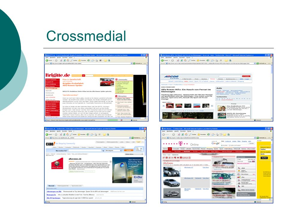 Crossmedial