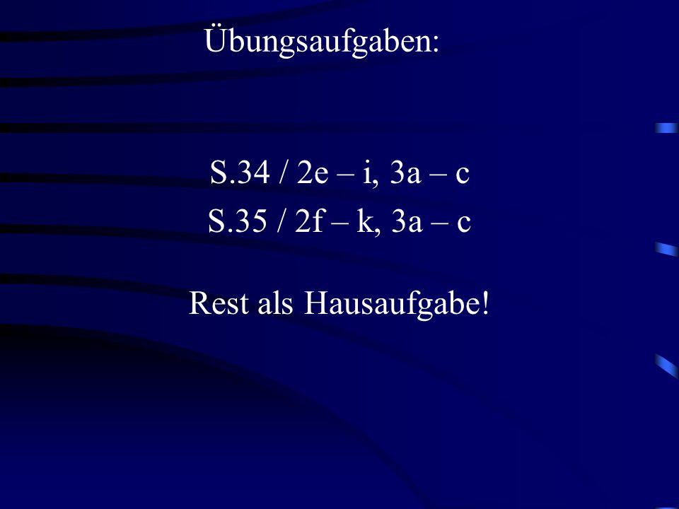1. (7 - s)² = 7² - 2 · 7 · s + s² = Probe: für s = 4 eingesetzt (7 - 4)² = 3² = 9 7² – 2 · 7 · 4 + 4² = 49 - 56 + 16 = 9 49 - 14s + s² (a - b)² = a² -