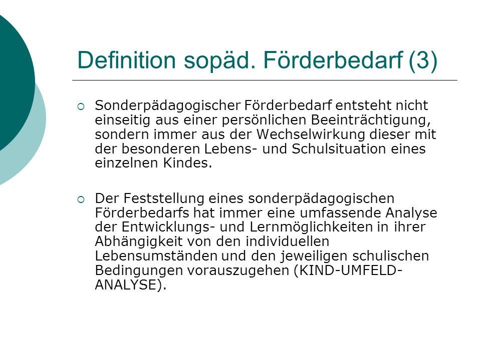Definition sopäd.