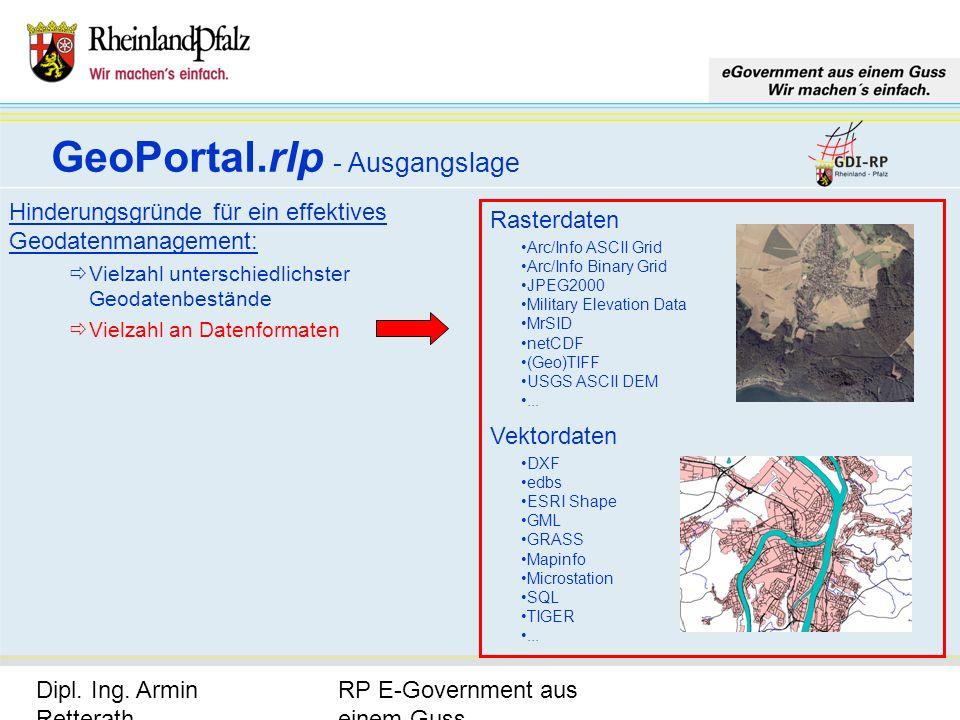 RP E-Government aus einem Guss Dipl. Ing. Armin Retterath, LVermGeo – KGSt. GDI-RP - Seite 5 Hinderungsgründe für ein effektives Geodatenmanagement: V