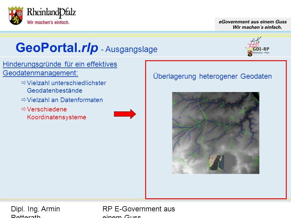 RP E-Government aus einem Guss Dipl. Ing. Armin Retterath, LVermGeo – KGSt. GDI-RP - Seite 6 Hinderungsgründe für ein effektives Geodatenmanagement: V