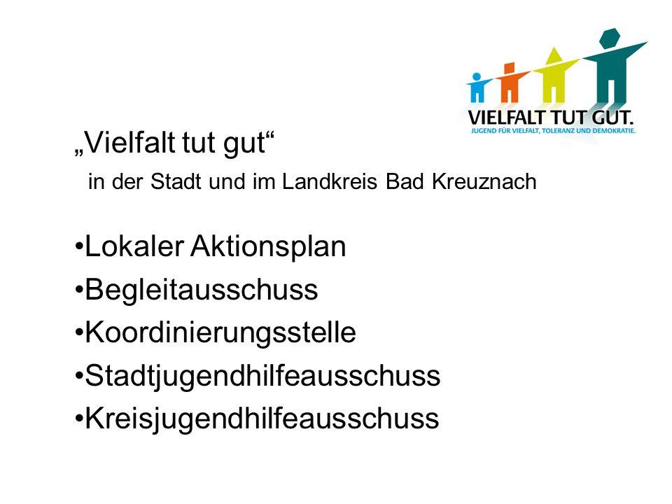 Lokaler Aktionsplan Begleitausschuss Koordinierungsstelle Stadtjugendhilfeausschuss Kreisjugendhilfeausschuss