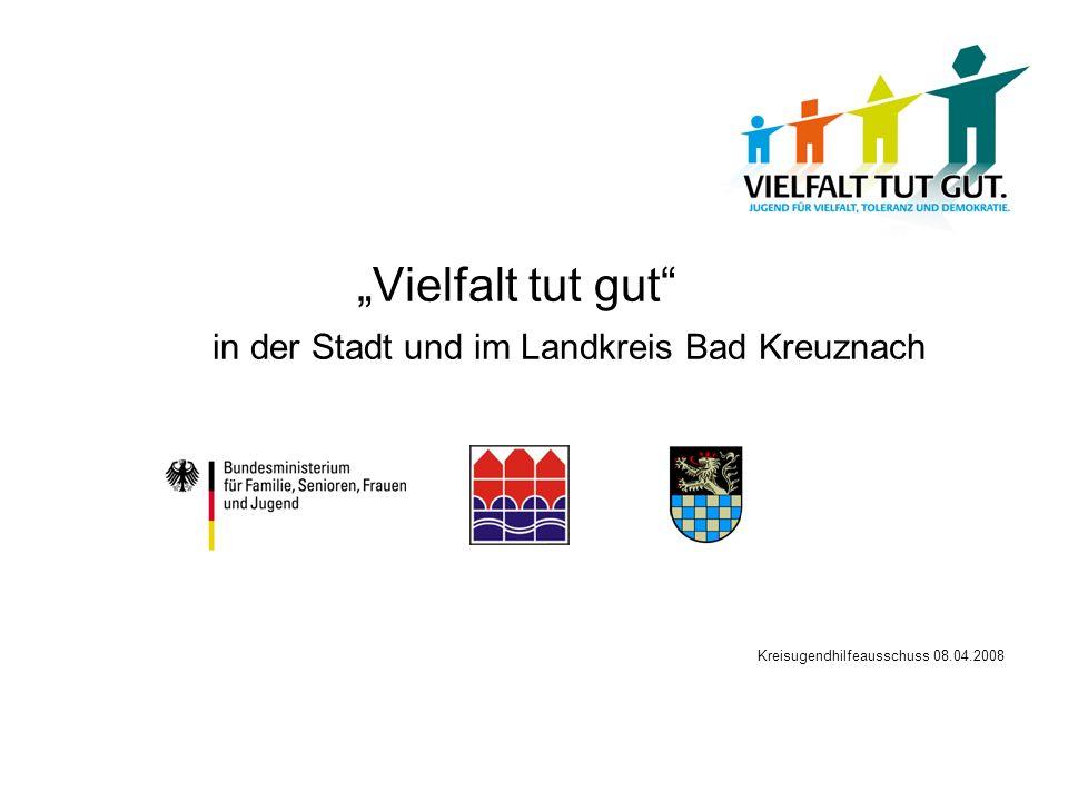 Vielfalt tut gut in der Stadt und im Landkreis Bad Kreuznach Kreisugendhilfeausschuss 08.04.2008