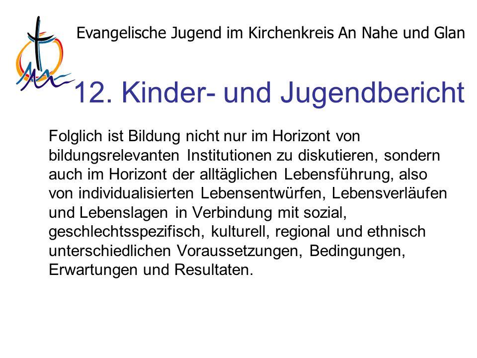 Evangelische Jugend im Kirchenkreis An Nahe und Glan 12.