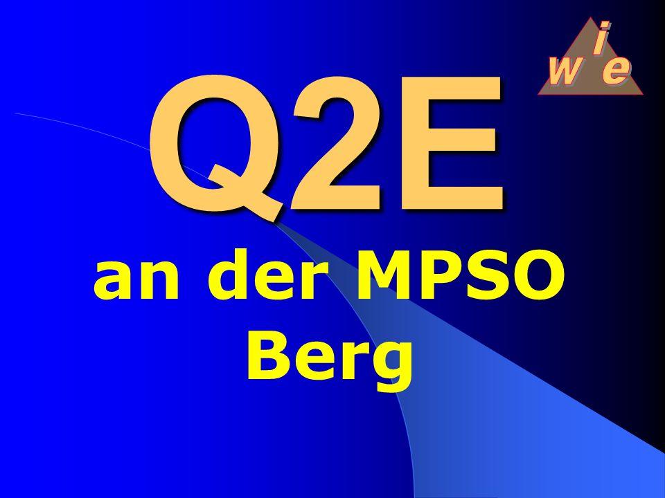 Q Qualität 1 Edurch E valuation 1 Eund E ntwicklung Q2E