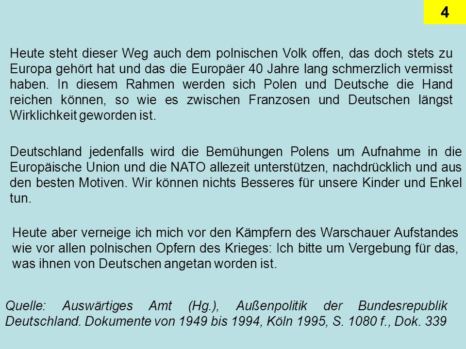 5 Bundeskanzler Der Bundeskanzler als Regierungsspitze besitzt in der politischen Praxis der Bundesrepublik im auswärtigen Bereich die dominante Rolle.