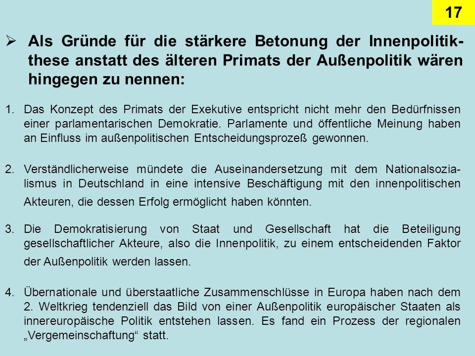 17 2.Verständlicherweise mündete die Auseinandersetzung mit dem Nationalsozia- lismus in Deutschland in eine intensive Beschäftigung mit den innenpoli
