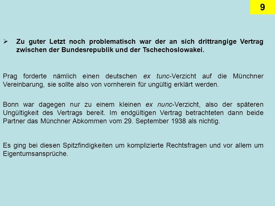 20 So deutlich die innerdeutsche Entspannung in den achtziger Jahren auch war, die Beziehungen waren dennoch alles andere als freundlich.