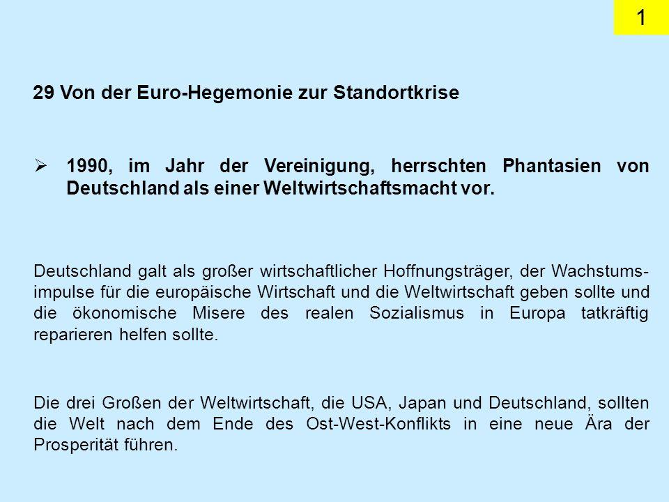 22 Wie die Analyse der deutschen Absatzmärkte aufgezeigt, wird Reichtum aus dem Außenwirtschaftsverkehr vornehmlich im West- handel verdient.