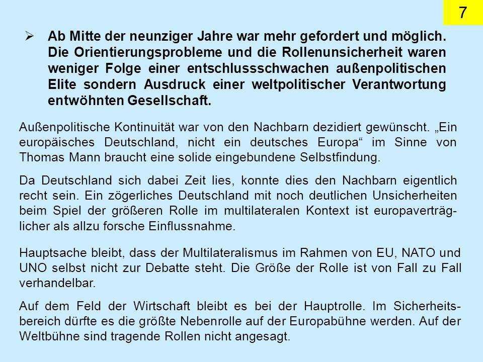 8 Dokument 25 Aus der Rede vom Bundesminister des Auswärtigen, Kinkel, vor der Deutschen Gesellschaft für Auswärtige Politik am 24.