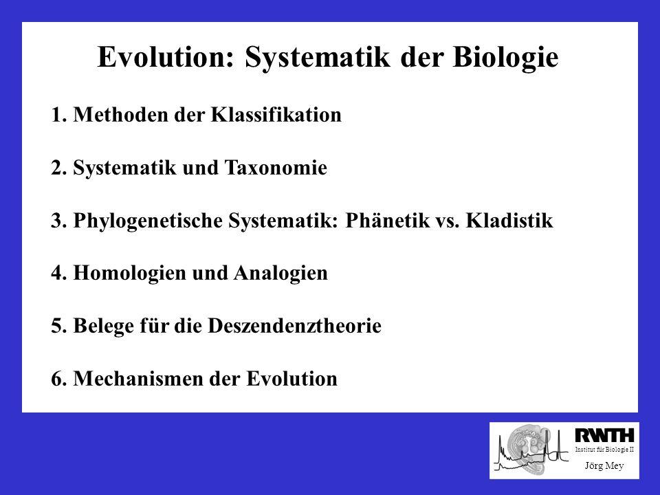 Mechanismen der Evolution Jean-Baptiste Lamarck 1744-1829 Erblichkeit erworbener Eigenschaften Diese Theorie widerspricht den heutigen Kenntnissen der Genetik: Trennung von Soma und Keimbahn Somatische Modifikationen verändern den Genotyp nicht.