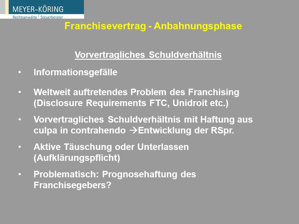 12 Wie viel Know-how braucht Franchising.Was ist Know-how.
