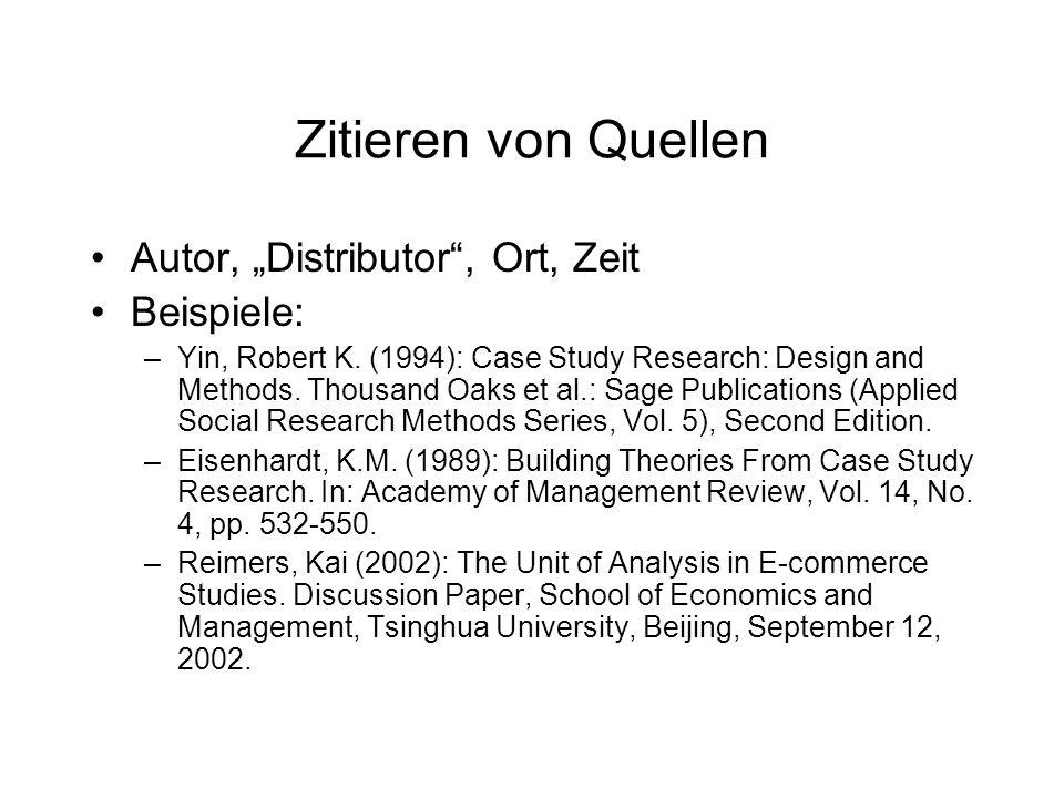 Weiterführende Literatur Neuman, W.
