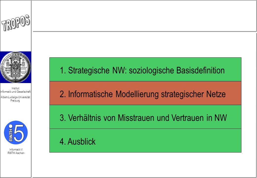 Informatik V RWTH Aachen Institut Informatik und Gesellschaft Albert-Ludwigs-Universität Freiburg Netzwerke (einige Anforderungen) 1.