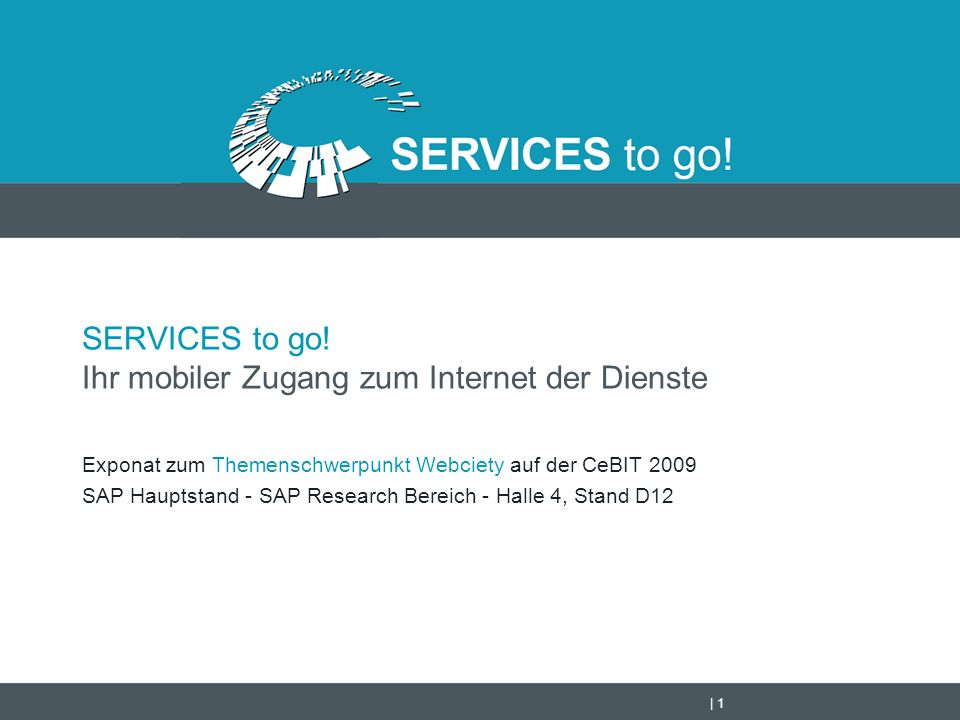   2 Was kann SERVICES to go!.SERVICES to go.