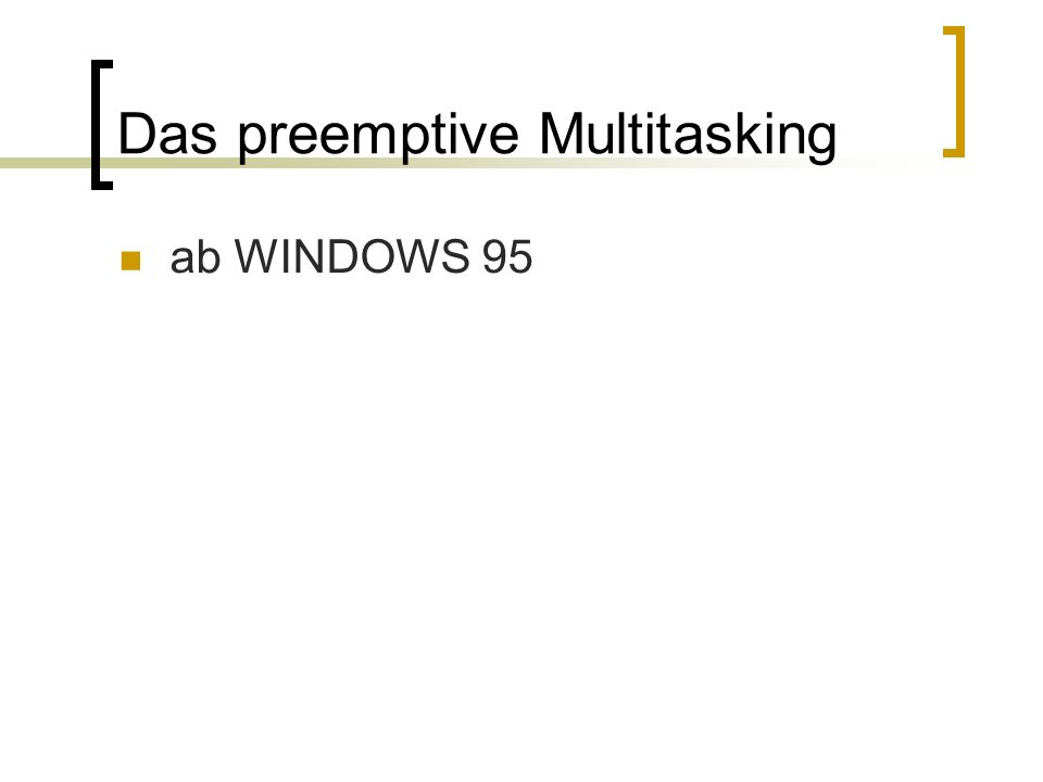 ab WINDOWS 95