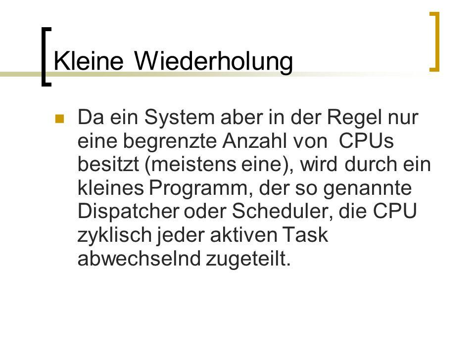 Das preemptive Multitasking Kleine Demonstration: http://www.cpp- tutor.de/mfc/mfc/kap1/mtask2.htm