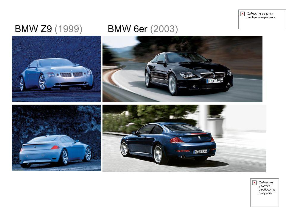 BMW Z9 (1999)BMW 6er (2003)