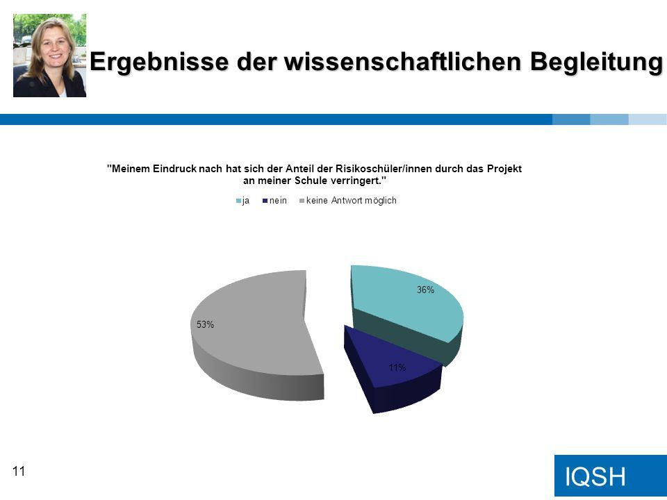 IQSH Ergebnisse der wissenschaftlichen Begleitung 11