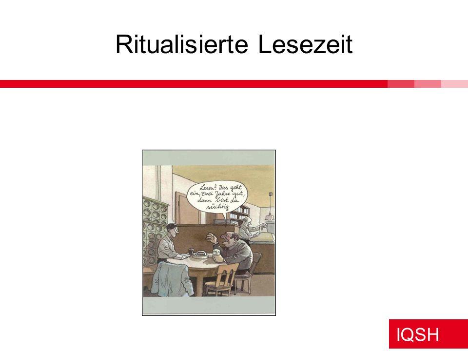 IQSH Ritualisierte Lesezeit