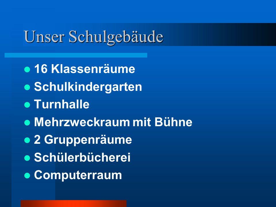 Unsere Schule in Zahlen: Vierzügige Grundschule Ca.