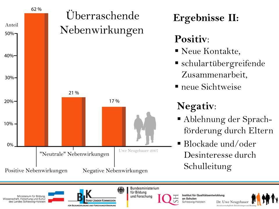 VI) Ergebnisse bei den Sprachfördernetzwerken in Flensburg und Norderstedt