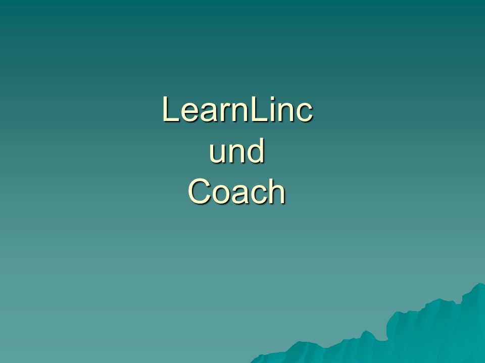 Coach 5 Beispiel Physik: Beispiel Physik: Mit den weiter- gehenden Versionen von Coach kann man z.