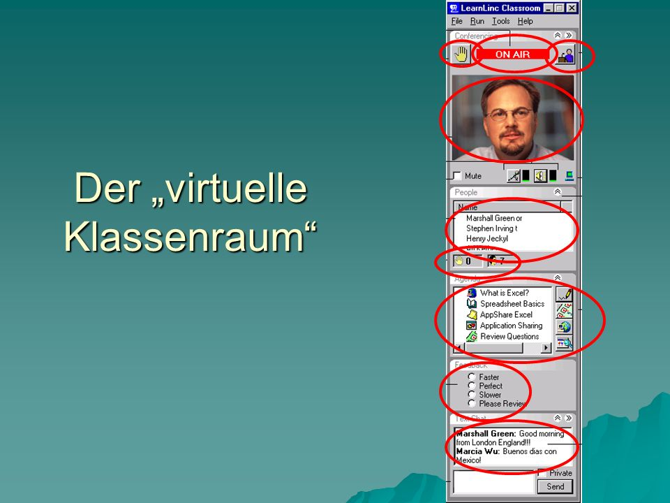 Der virtuelle Klassenraum