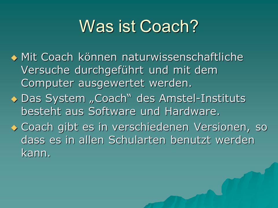 Was ist Coach.