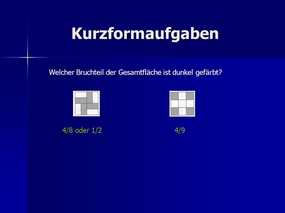 Kurzformaufgaben Eine Figur, wie sie in der Skizze unten zu sehen ist, besteht aus fünf gleich großen Quadraten und hat einen Flächeninhalt von 80 cm².