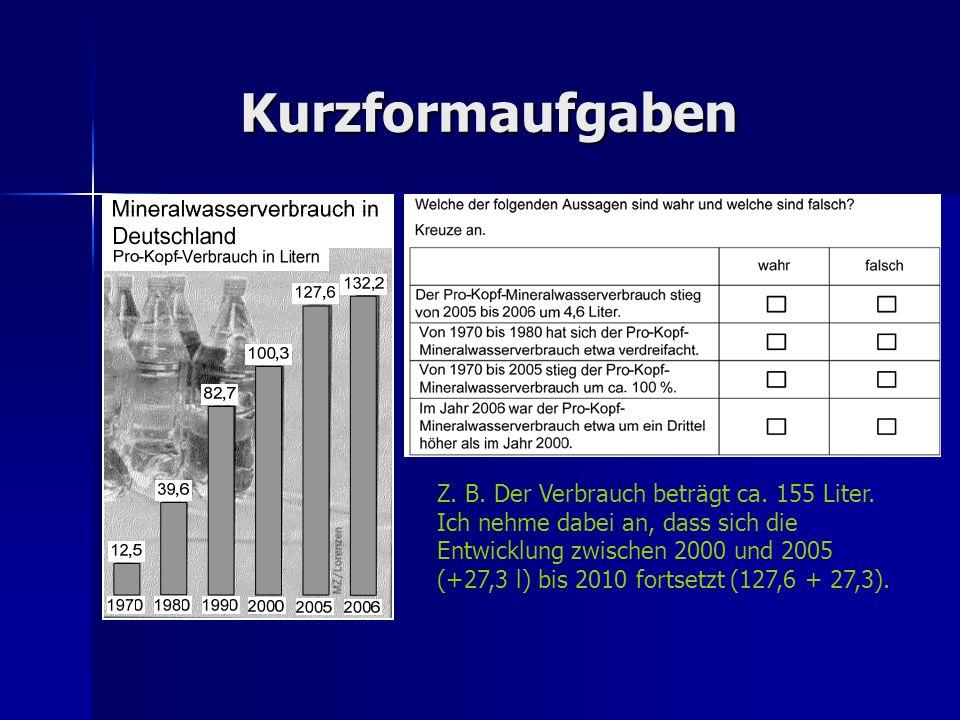 Der Mineralwasserverbrauch hat sich in Deutschland seit 1970 stark verändert.
