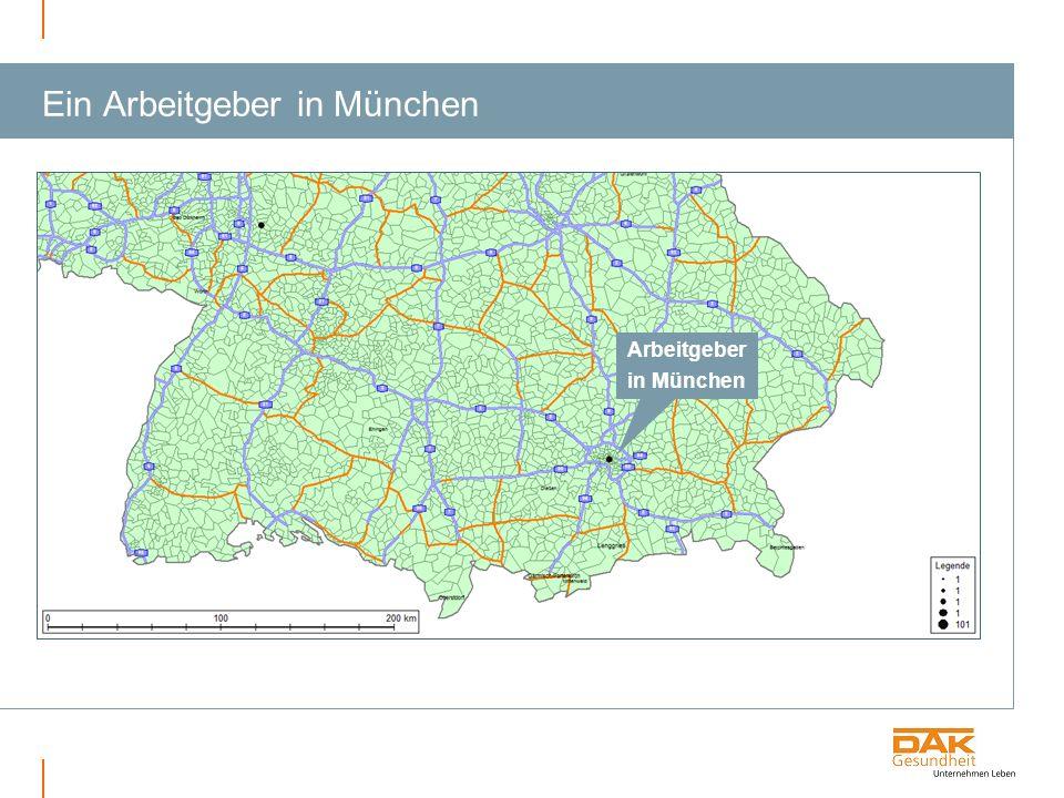Ein Arbeitgeber in München Arbeitgeber in München